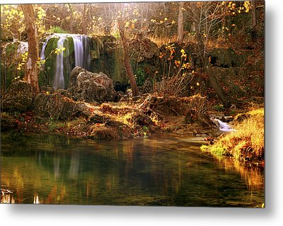 Metal Print featuring the photograph Price Falls 1 Of 5 by Jason Politte