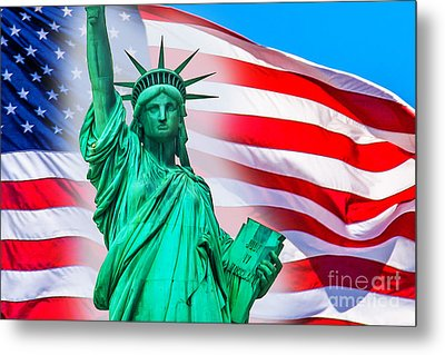 Pride Of America Metal Print