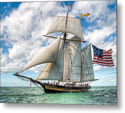 Metal Print featuring the photograph Pride Of Baltimore  by Brent Durken