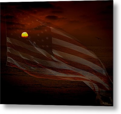 Pride Of Country Metal Print