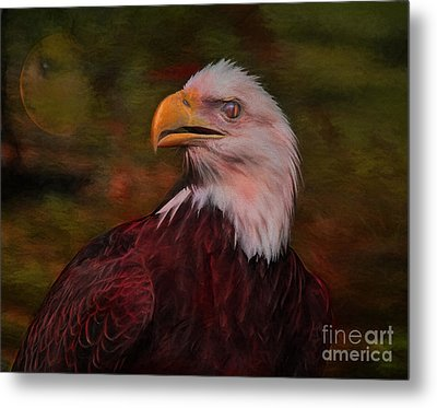 Pride Strength And Courage Metal Print