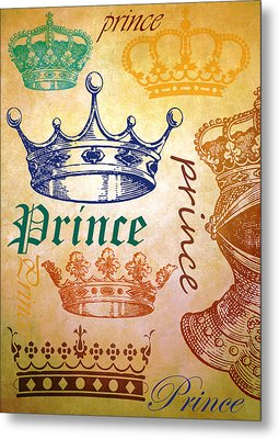 Prince 2 Metal Print by Angelina Vick