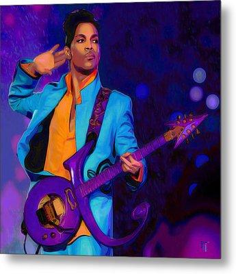 Prince 3 Metal Print