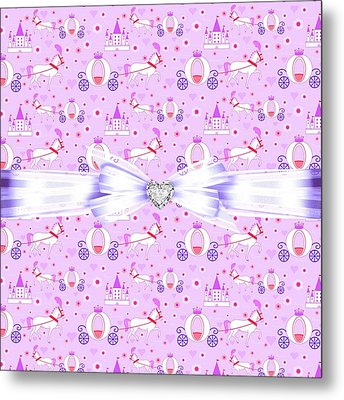 Princess Celebration Metal Print