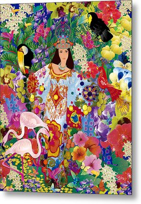 Princess Guajira Metal Print