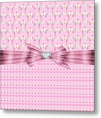 Princess Hearts And Desire Metal Print