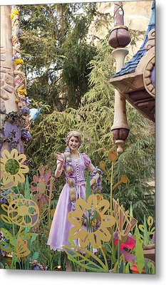 Princess Metal Print by Malania Hammer