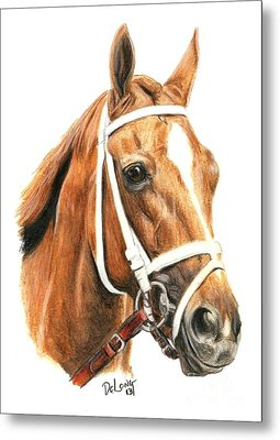 Princess Of Sylmar Metal Print