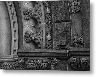 Metal Print featuring the photograph Princeton Architectural Detail by Glenn DiPaola