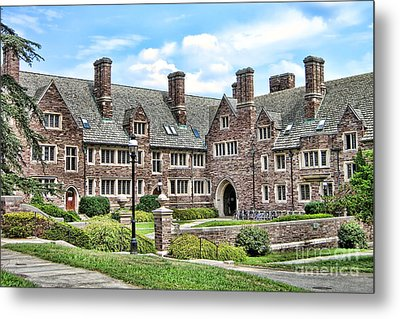 Princeton University Dormitory  Metal Print by Olivier Le Queinec