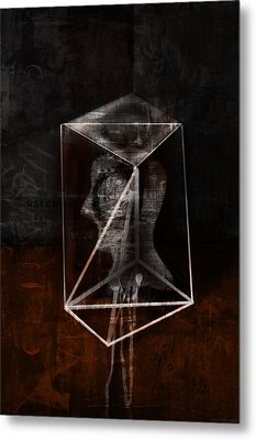 Prism Metal Print by Kim Gauge