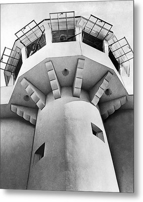 Prison Guard Tower Metal Print by Underwood Archives