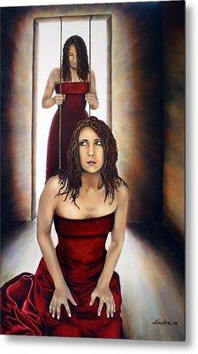 Prisoner Of My Mind Metal Print by Alexandra Louie