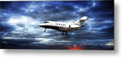 Airplane Metal Print featuring the photograph Private Business by Aaron Berg