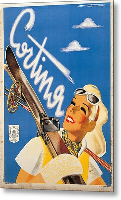 Private Collection. Poster Advertising Metal Print