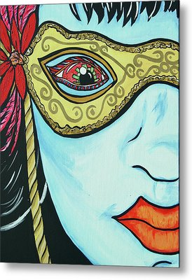 Private Eye Metal Print by Lorinda Fore