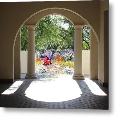Private Garden Metal Print by Kume Bryant