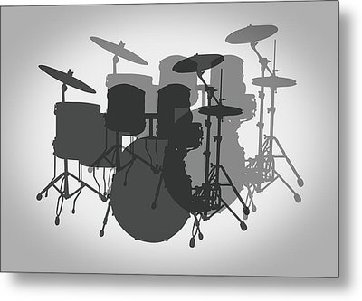 Pro Drum Set Metal Print