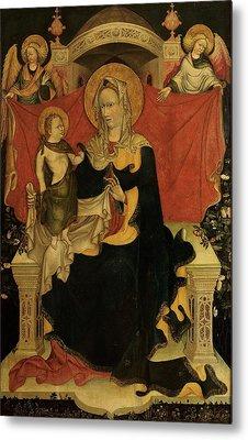 Probably Artista Veneziano, Madonna Metal Print by Everett