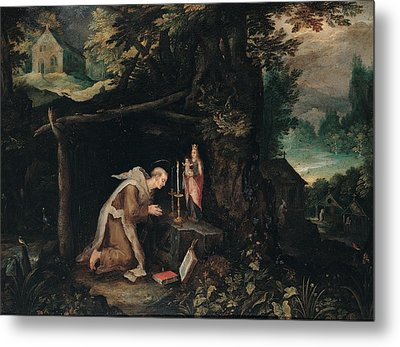 Probably Bruegel Jan Called Bruegel Metal Print by Everett