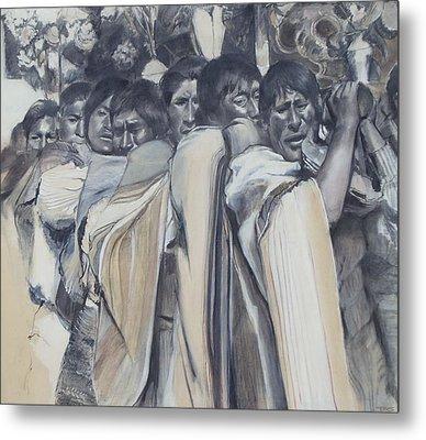 Procession Metal Print by Terri Ana Stokes