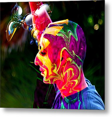 Progressive Thinking Metal Print by Camille Lopez