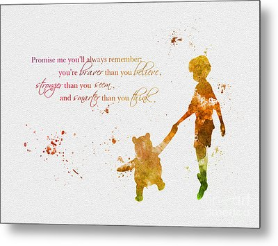 Promise Me You'll Always Remember Metal Print by Rebecca Jenkins
