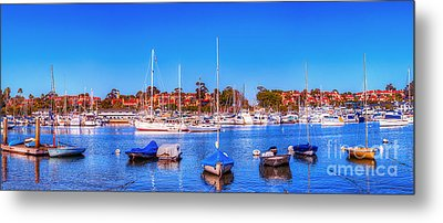 Metal Print featuring the photograph Promontory Point - Newport Beach by Jim Carrell