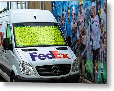 Promotion During The Atp Trophy In Stuttgart - Germany Metal Print
