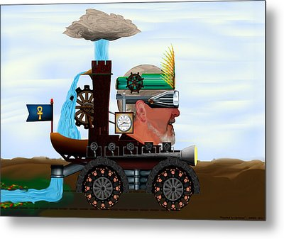Propelled By Optimism Metal Print by AW Sprague II
