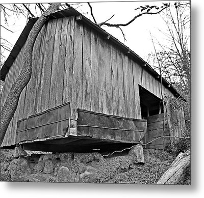 Propped Up Metal Print by Susan Leggett