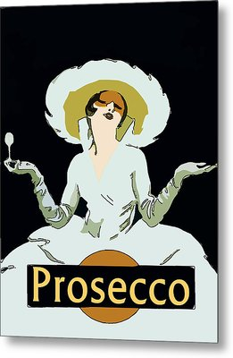 Prosecco Metal Print