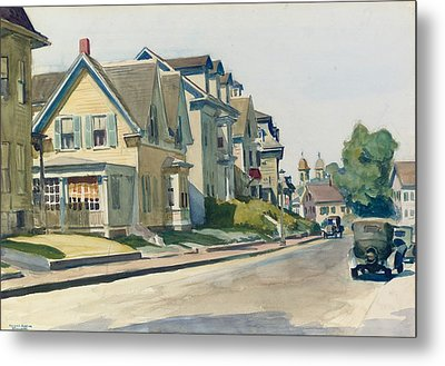 Prospect Street Metal Print by Edward Hopper