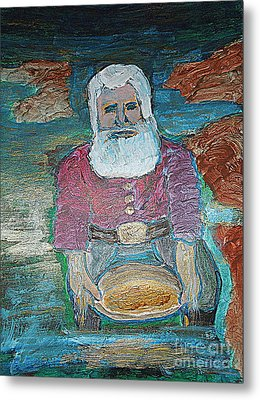 Prospector 1 Metal Print by Richard W Linford