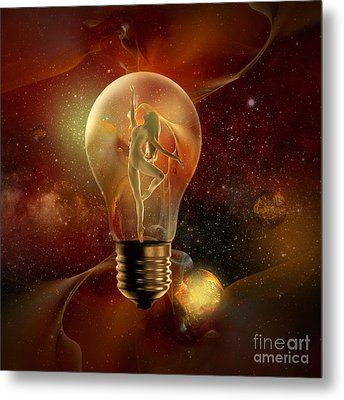 Protected Space Metal Print