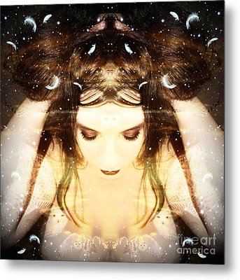 Protected Within Metal Print by Heather King