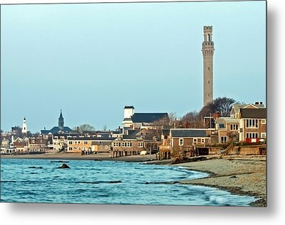Provincetown Bay And Monument Metal Print
