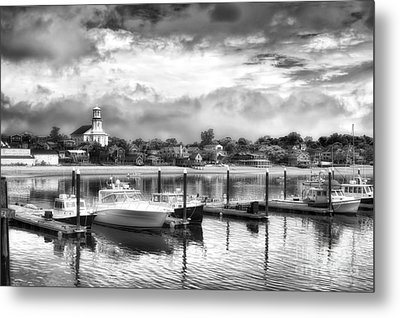 Provincetown Harbour View II Metal Print by Jack Torcello