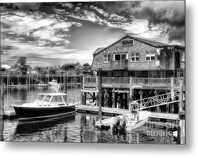 Provincetown Pier Metal Print by Jack Torcello