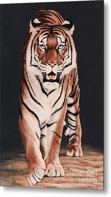 Metal Print featuring the painting Prowl by DiDi Higginbotham