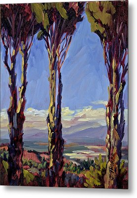 Pruned For The View Metal Print by Jane Thorpe