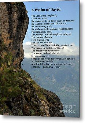 Psalm Of David Metal Print by Kirt Tisdale