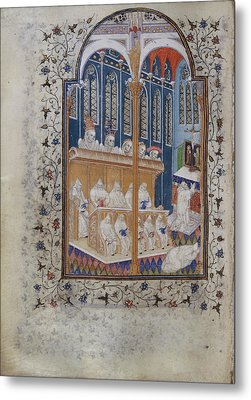 Psalter Of Henry Vi Metal Print