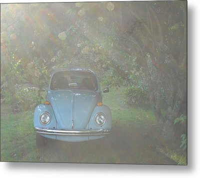 Psychedelic Bug Metal Print by Diannah Lynch