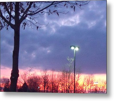 Metal Print featuring the photograph Psychedelic Sunset by Lyric Lucas