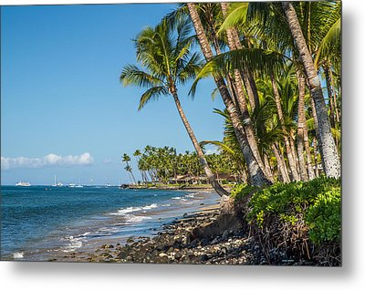 Puamana Maui Metal Print by Pierre Leclerc Photography