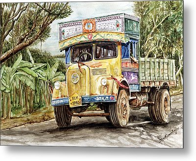 Public Carrier Metal Print by Sethu Madhavan