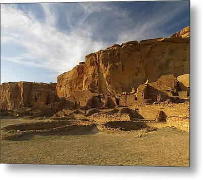 Pueblo Bonito Afternoon Metal Print by Feva  Fotos
