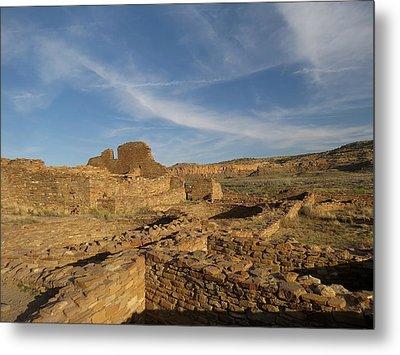 Pueblo Bonito Walls And Rooms Metal Print