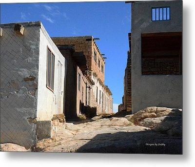 Metal Print featuring the photograph Pueblo Pathway by Debby Pueschel